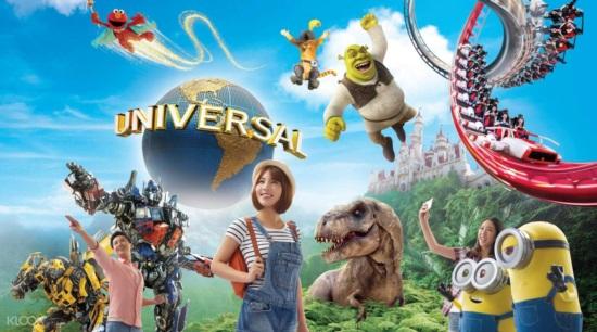 Giờ mở cửa universal studio singapore - Cách đặt vé, giá vé eticket