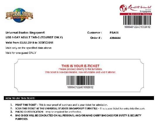 Mua vé vào universal studio singapore 24 trò và các show diễn